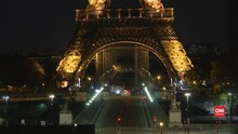 VIDEO: 'Kota Mati' Paris di Tengah Lockdown