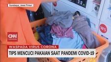 VIDEO: Tips Mencuci Pakaian Saat Pandemi Covid-19
