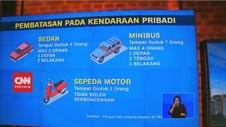 VIDEO: PSBB Berlaku, Jumlah Penumpang Kendaraan Kini Dibatasi