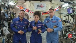 VIDEO: Astronaut NASA Sebut Isolasi Diri di Bumi Lebih Sulit