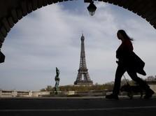 Aduh! Ekonomi Prancis Diramal Terkontraksi -11%