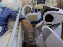 Canggih! Ini Penampakan Robot Perawat Pasien COVID-19