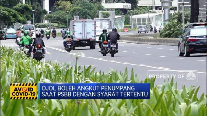 Ini Syarat Ojol Bawa Penumpang saat PSBB (CNBC Indonesia TV)