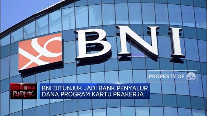 BNI Ditunjuk Jadi Bank Penyalur Dana Program Kartu Prakerja (CNBC Indonesia TV)