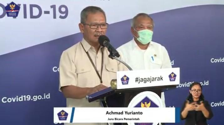 Pemerintah menyatakan total kasus positif virus corona (COVID-19) di Indonesia hingga Senin (13/4/2020) pukul 12.00 WIB sebanyak 4.557 orang.