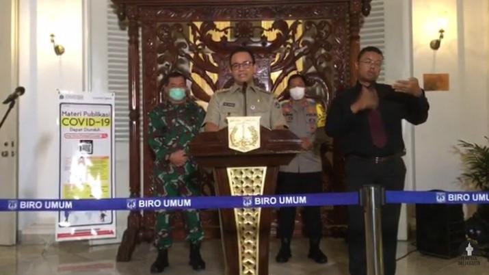Selesai 22 Mei, Anies Bakal Perpanjang PSBB DKI Jakarta?