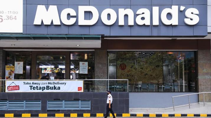 MCDonald's (CNBC Indonesia/ Andrean Kristianto)
