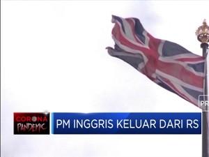 Sepekan Dirawat, PM Inggris Keluar dari Rumah Sakit
