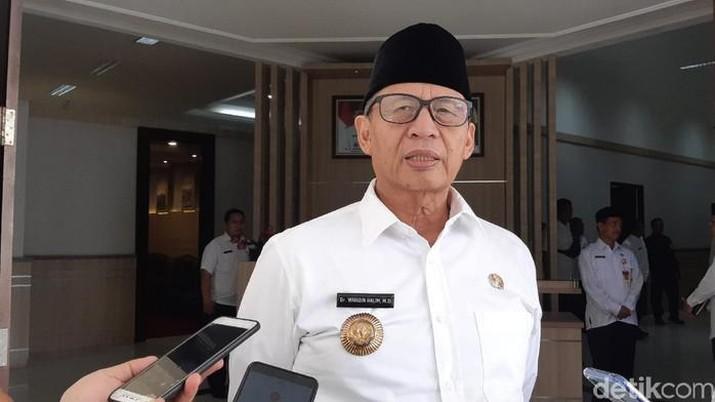 Gubernur Banten Wahidin Hallim (detikcom/Bahtiar Rifa'i)