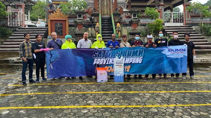 PT Bukit Asam Tbk (PTBA) yang menjadi koordinator Satuan Tugas BUMN di Lampung, menyelenggarakan Roadshow Safety Covid-19 di beberapa titik di Lampung.