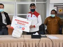 Kebutuhan APD Melonjak, Pertamina Bantu RS Rujukan Padang