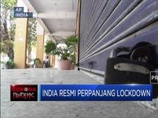 India Resmi Perpanjang Lockdown