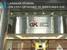 Langgar Aturan, Izin 2 Multifinance Ini Dibekukan OJK