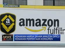 Wow! Harga Saham Amazon Sentuh Level Tertinggi Sepanjang Masa