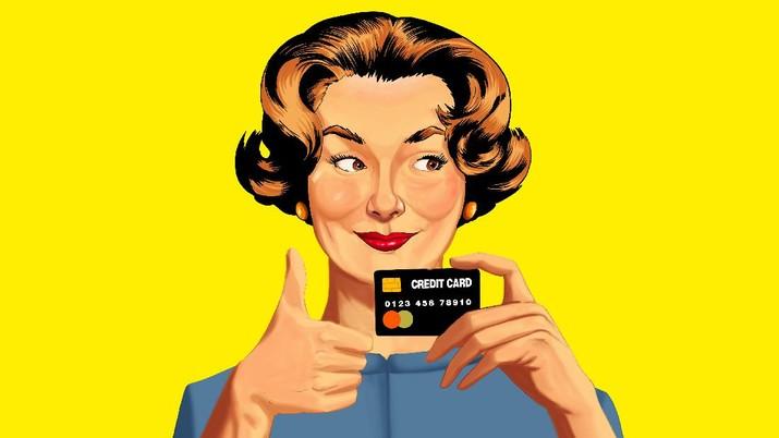 Infografis, Uang Denda sampai Bunga Kartu Kredit Turun