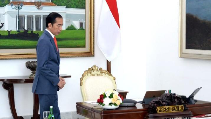 Presiden Joko Widodo (BPMI Setpres/Lukas)
