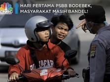 Hari Pertama PSBB Bodebek, Masyarakat Masih Bandel!