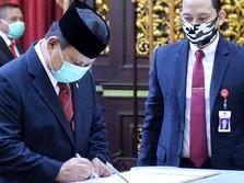 Ss..tt!! Menteri Pertahanan China Telepon Prabowo, Ada Apa?