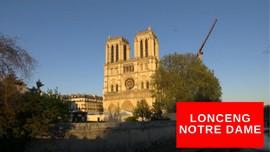 VIDEO: Bunyi Lonceng Notre Dame untuk Hormati Tenaga Medis