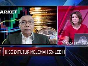 Pasar Masuk Fase Bearish, IHSG Terkoreksi Lebih dari 3%