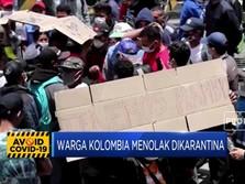 Warga Kolombia Protes Menolak untuk Dikarantina