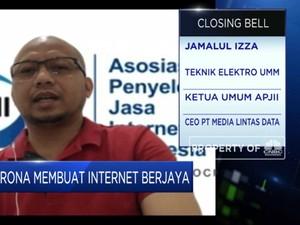 APJII: Efek WFH, Trafik Penggunaan Internet Ritel Naik 20%