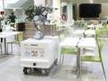 VIDEO: Mengintip Uji Coba Robot Disinfektan Milik Singapura