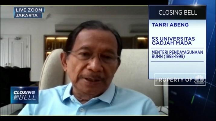 Tanri Abeng: Virus Corona Sebabkan Krisis Multidimensi Bagi Ekonomi RI (CNBC Indonesia TV)