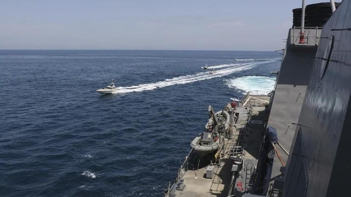 Angkatan Laut Iran Amerika Serikat. (U.S. Navy via AP)