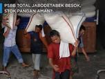 PSBB Total Jabodetabek Besok, Stok Pangan Aman?