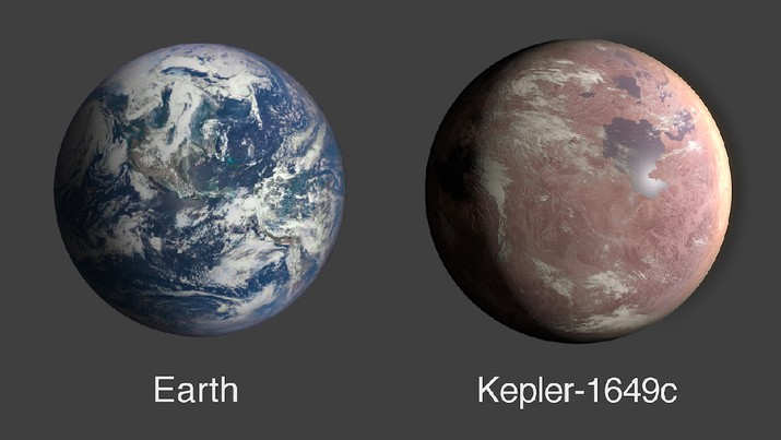 Planet Serupa Bumi Ditemukan