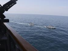 Awas Perang! Arab Saudi Tembak Kapal Iran di Laut Teluk