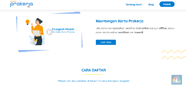 Ingat Yah Begini Langkah Biar Lolos Kartu Pra Kerja Jokowi