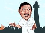 Misteri Pertemuan Senyap 4 Mata Luhut & Prabowo, Bahas Apa?