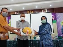 GEBAH Corona Salurkan Bantuan APD untuk RSUD Kab Tangerang
