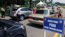 Lalu Lintas Tangsel Menuju Jakarta Terpantau Ramai Lancar