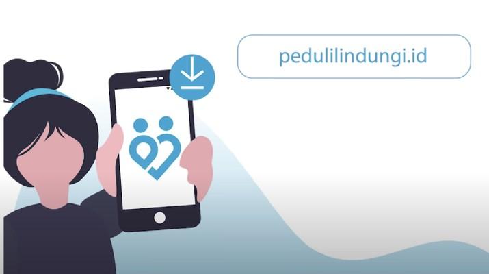 Aplikasi Peduli Lindungi (ScreenShot Official PeduliLindungi via Youtube)
