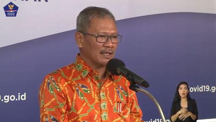 Achmad Yurianto- Juru Bicara Pemerintah. (BNPB)