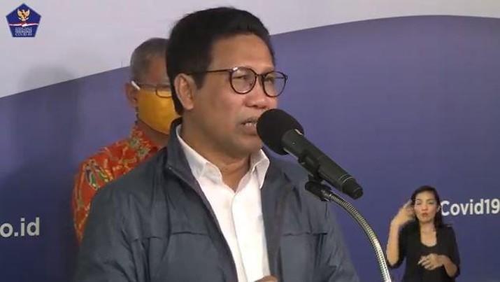 Abdul Halim Iskandar - Menteri Desa, Pembangunan Daerah Tertinggal dan Transmigrasi . (BNPB)