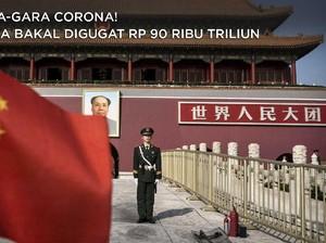 Gara-Gara Corona! China Bakal Digugat Rp 90 Ribu Triliun
