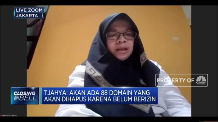 Atasi Penipuan di Bursa Berjangka, Bappebti Blokir Domain Situs Pialang Ilegal(CNBC TV )