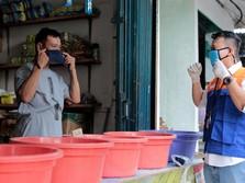 Satu Juta Masker Gratis Bagi Pedagang Pasar di Tengah Corona