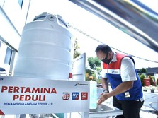 Pertamina Bagikan 1.800 Paket Sembako untuk Lansia di DKI