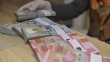 Ketegangan AS-China, Rupiah Meregang ke Rp14.737 per Dolar AS