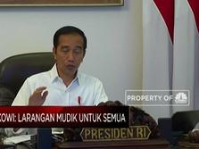 Larangan Mudik Berlaku untuk Semua, Ini Kata Jokowi