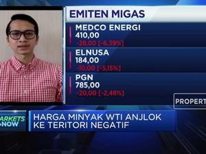 Kontrak Berjangka Expired, Harga Minyak Anjlok di Bawah USD 0