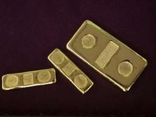 Emas Sedang Rapuh, Harganya Sekarang ke Bawah US$ 1.850/Oz