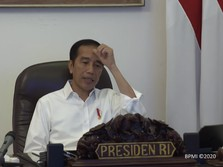 Pengrajin Kayu Curhat ke Jokowi: Omzet Anjlok Gegara Covid-19