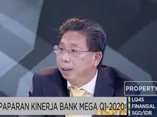 Kredit Melesat, Ini Rahasia Bank Mega Bisa Jaga Kualitas