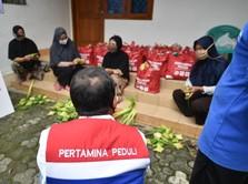 Pertamina Bagikan 6.643 Paket Bantuan untuk Pekerja Perempuan